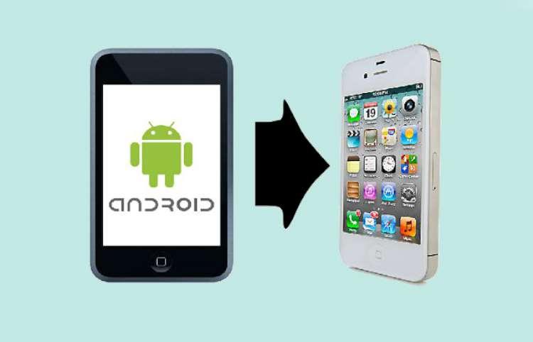 Transfer data mobile to mobile