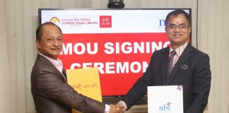 MoU Between Sunrise Bank and Nepal Banking Institute