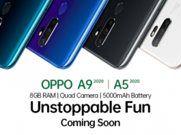 OPPO is excited to announce that it will soon launch the A Series 2020