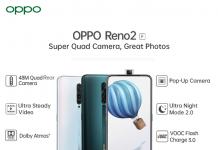 Oppo Reno2 F specifications
