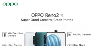 Oppo Reno2 F specifications