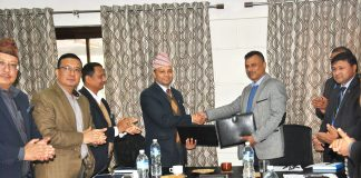 Ntc and NTA agree to build information highway along Karnali and Sudhurpaschim province