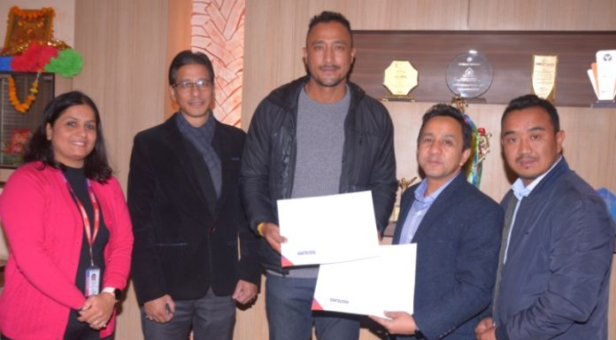 Subisu as an internet partner for Pokhara Premier League