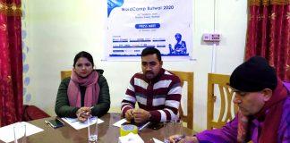 WordCamp Butwal 2020 Press Meet
