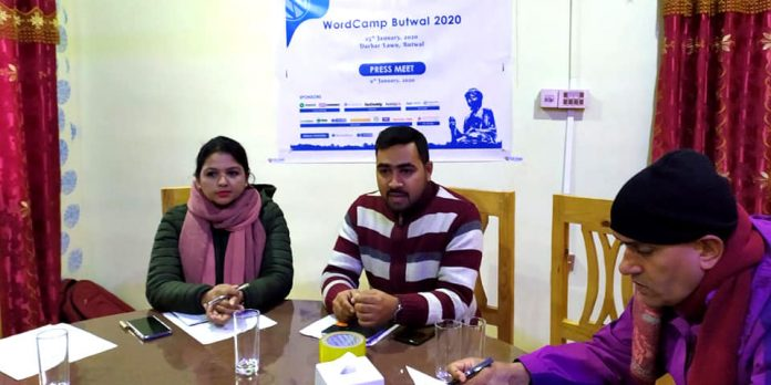 WordCamp Butwal 2020 Press Meet