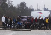 Bikers Night Out at Dhulikhel