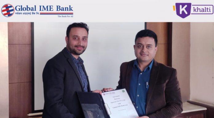 Global IME-Khalti partnership for digital payment in Nepal