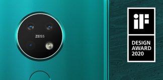 "Nokia Phones Awarded by ""IF DESIGN Awards 2020"""