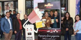 launching of Sunrise Popcorn Mania in collaboration with QFX Cinema
