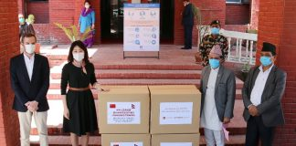 Jack Ma Foundation for Nepal arrived in Kathmandu