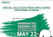 Oppo Kathmandu Nepal extended Warranty