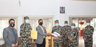 Sunrise Bank is continuously working on for providing PPE equipment to various hospital