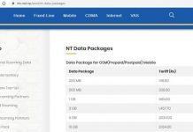NT Data Packages