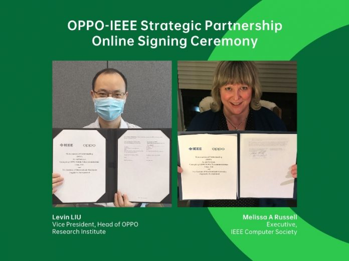 OPPO Reach Strategic Partnership with IEEE