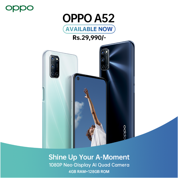 OPPO A52 Price