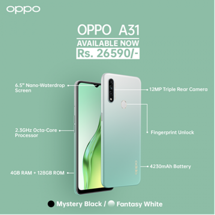 Oppo-A31-Price