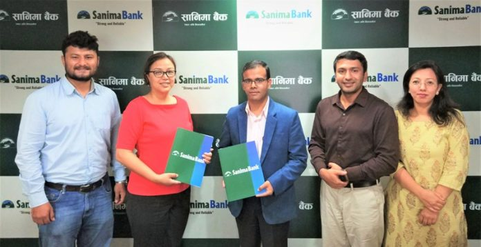 Sanima Bank has continued its financial support