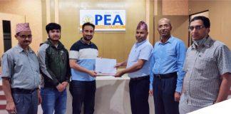 Khalti Partners WIth PEA Association