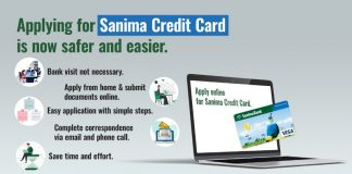 Sanima Credit Card