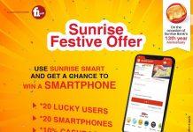 Sunrise Bank Collaboration With F1Soft International