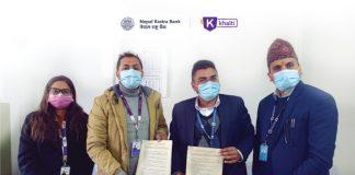 Nepal Rastra Bank Signs Khalti