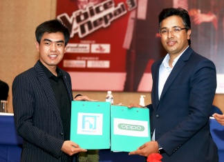 OPPO Collaborates with Voice of Nepal