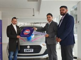 Car Handed Over to Gulf Dealer