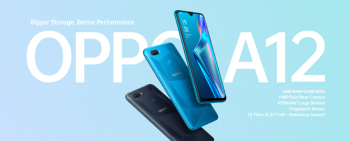 OPPO A12 3GB Price Drop
