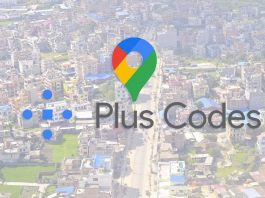 Google Plus Codes in the Bank