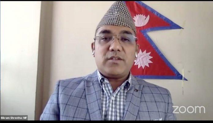 President of Nepal Internet Foundation