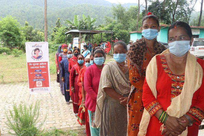 gibl free women health camp