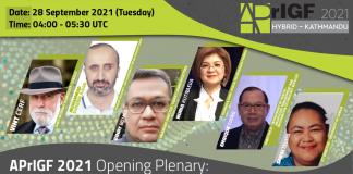 APrIGF 2021 Plenary